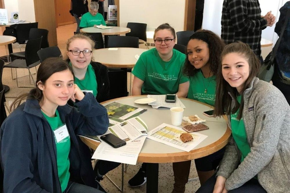 High School volunteers at the 2018 Annual Conference