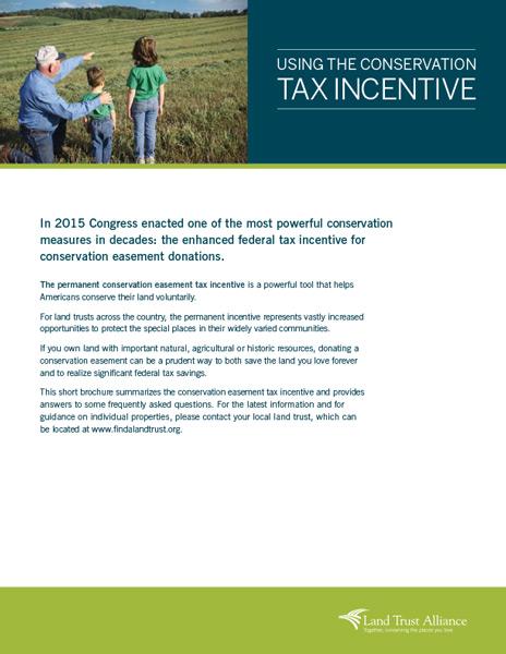Land Trust Alliance brochure