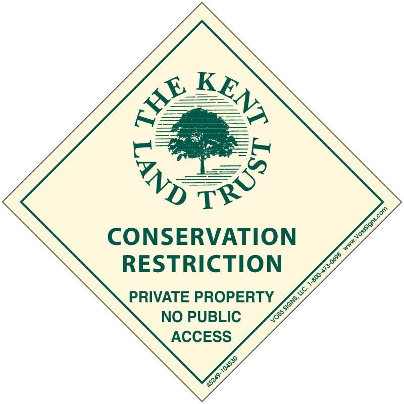 Conservation Restriction Sign